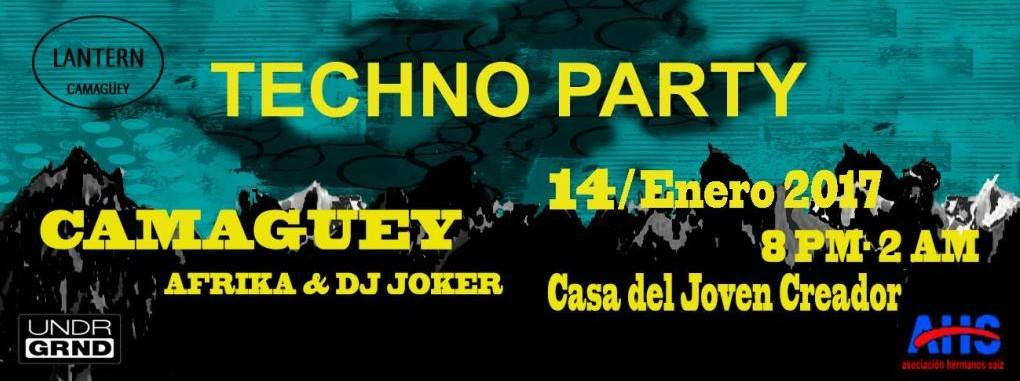 coocuyo -techno party Techno Party en Camagüey